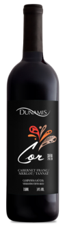 Vinho Tinto Dunamis Cor ( Cabernet Franc/Merlot/ Cabernet Sauvignon) 750ml