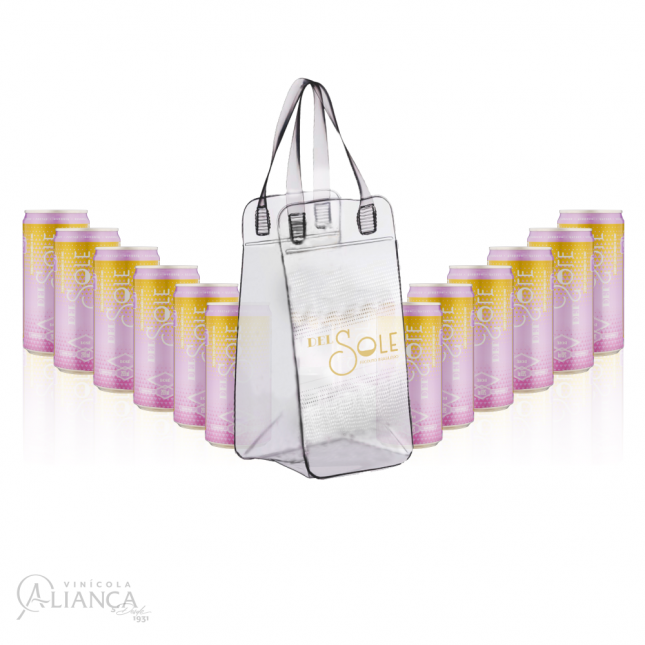 Combo Del Sole: 12 Latas Rosé + Bag de Brinde!