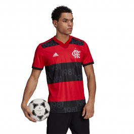 Imagem - Camiseta Adidas Flamengo I 21/22 Masculino - GG0997 cód: 028822