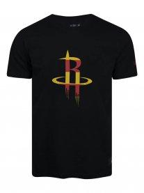 Imagem - Camiseta New Era Nba Huston Rockets Masculina - Nbv20tsh077 cód: 024809