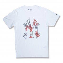 Imagem - Camiseta New Era Ny Yankees Botany Mask Feminina  - Mbv21tsh133 cód: 029879
