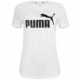 Imagem - Camiseta Puma Ess+ Metallic Logo Feminina - 586890-02 cód: 029665