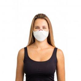 Imagem - Kit Máscara Fiber Knit Air + 30 Filtros De Proteção + Suporte Unissex - 0997 cód: 031844