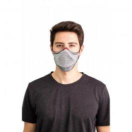 Imagem - Kit Máscara Fiber Knit AIR + 30 Filtros De Proteção + Suporte Unissex - B0927 cód: 031845