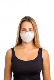 Imagem - Kit Máscara Fiber Knit Air + 30 Filtros De Proteção + Suporte Unissex - B278 cód: 031846