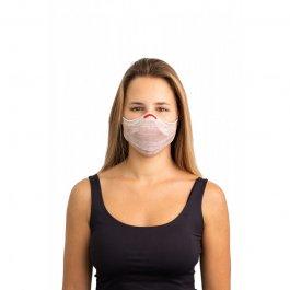 Imagem - Kit Máscara Fiber Knit Air + 30 Filtros De Proteção + Suporte Unissex - B8184 cód: 031848
