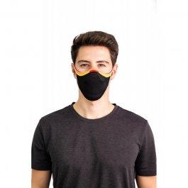Imagem - Kit Máscara Fiber Knit Sport + 30 Filtros De Proteção + Suporte Unissex - 5960 cód: 032048