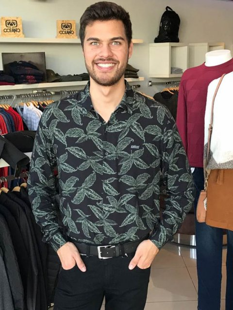 Camisa Colcci Floral