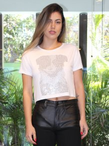 Blusa Cropped Groovy Forever