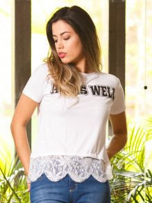 Blusa Groovy Forever Renda