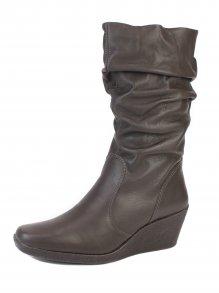 Imagem - Bota Anabela Slouch Boots Bottero Toscana Couro
