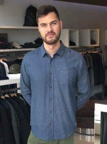 Imagem - Camisa Colcci Azul