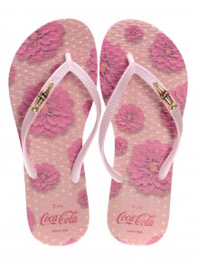 Chinelo Coca Cola Flower