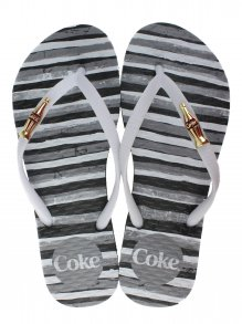 Chinelo Esportivo Coca Cola Paint Lines
