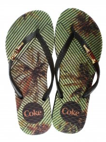 Chinelo Esportivo Coca Cola Tropical Square