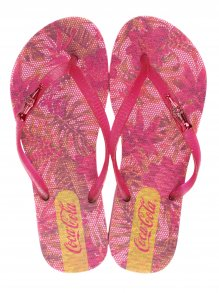 Chinelo Esportivo Coca Cola Wed Flower