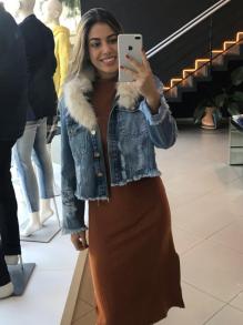 Jaqueta Lança Perfume Jeans