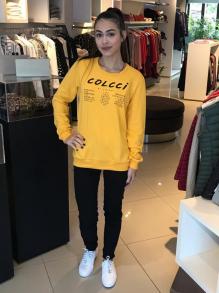 Moletom Colcci Amarelo
