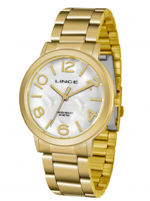 Relógio Kit Correntinha Brinco Lince