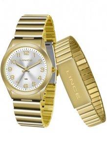 Relógio Kit Lince Lrg4455l Kt82 Pulseira