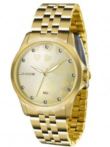 Relógio Kit Lince Lrgj064l Kt31 Strass