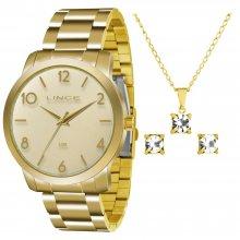 Relógio Lince com Kit Semi Jóias