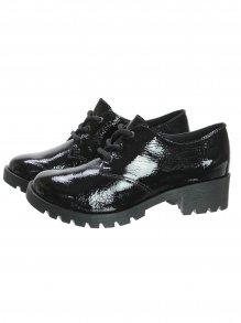 Sapato Oxford Bottero Verniz Tratorado