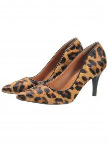 00cfc470d Sapato Scarpin Luz da Lua Animal Print