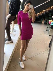 Vestido Curto Colcci Rosa