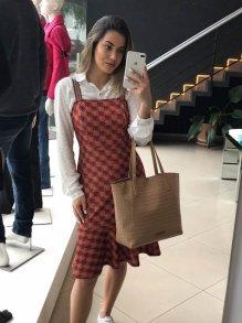 Vestido Midi Colcci