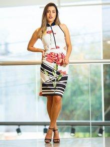 Vestido Midi Lança Perfume Floral