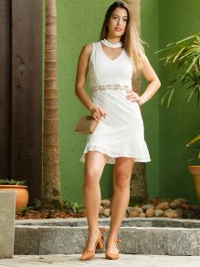 Vestido Morina Renda