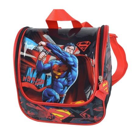 Lancheira Escolar Infantil Luxcel Super Man