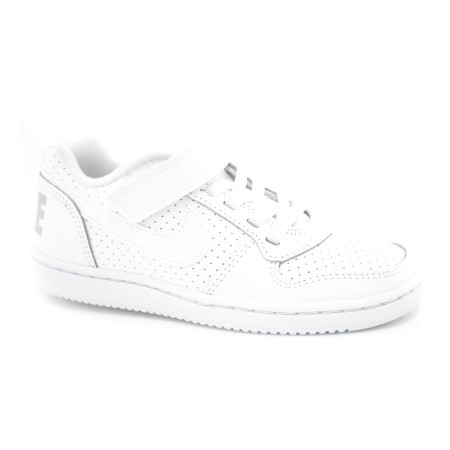 Tênis Infantil Branco Nike Court Borough- 28 Ao 33