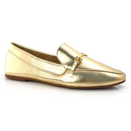 Loafer Feminino De Couro Suzzara