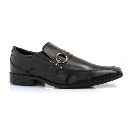 Sapato Social Preto Ped Shoes Taurus