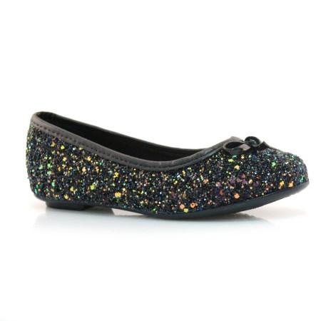 Sapatilha De Glitter Infantil Molekinha- 25 Ao 34
