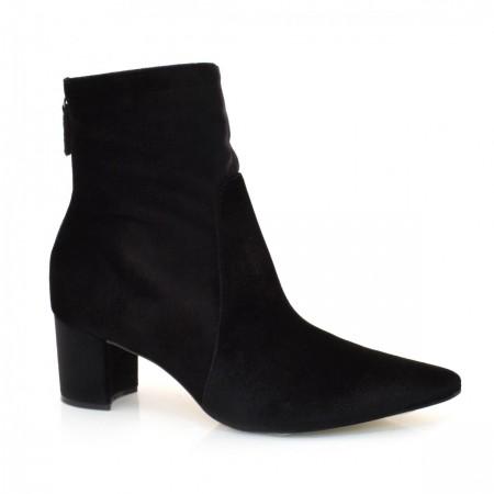 Ankle Boots De Salto Baixo Suzzara