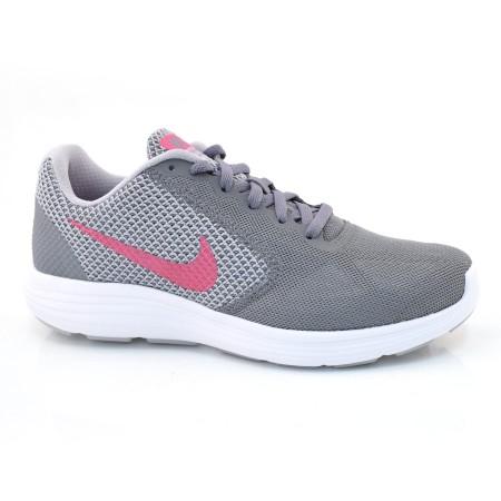 2b702caec8b Tênis Feminino Nike Revolution 3 CINZA PINK Com o Melhor Preço na Vizzent