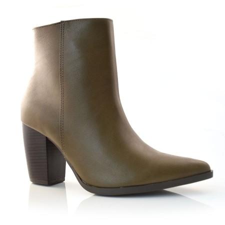 53e099a918 Ankle Boots De Salto Bloco Via Marte NP UNIQUE TOFFE-S Com o Melhor Preço  na Vizzent
