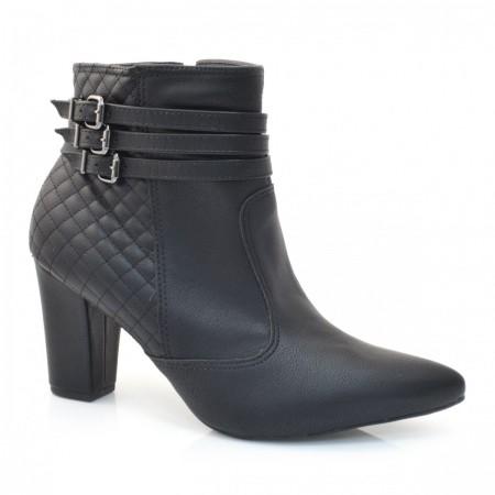 Ankle Boots De Salto Alto Laserena
