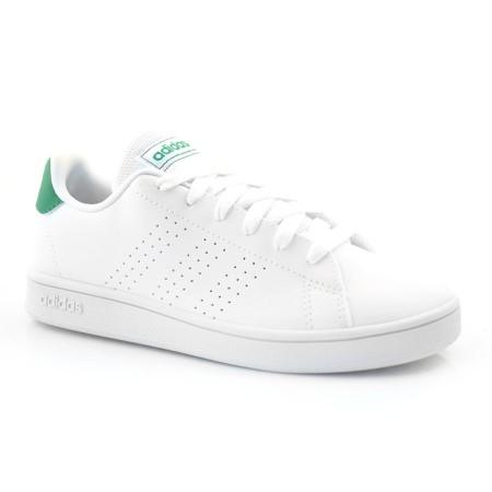 Tênis Branco Infantil Adidas Advantage - 31 Ao 36