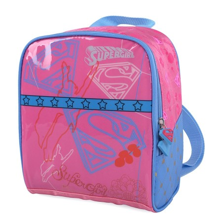 Lancheira Escolar Infantil Luxcel Super Girl