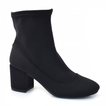 Ankle Boots Meia De Salto Alto Suzzara