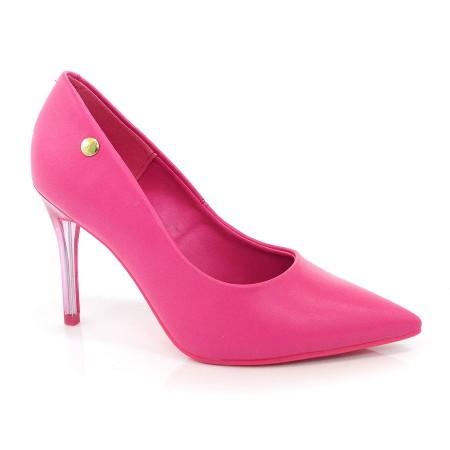 46417f792b Scarpin Salto Alto Pink Neon Vizzano PINK NEON 11603 Com o Melhor Preço na  Vizzent