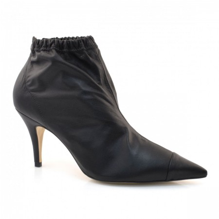 Ankle Boots Com Elastico E Salto Alto Suzzara