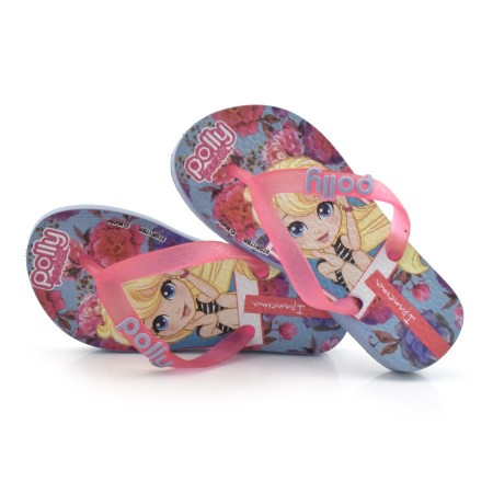Chinelo Infantil Ipanema Polly E Max Steel