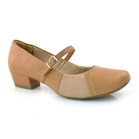 Sapato De Salto Baixo Laserena