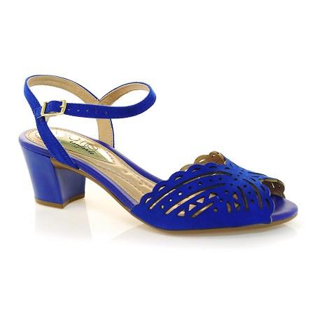 Sandalia Azul Beira Rio D3UZH