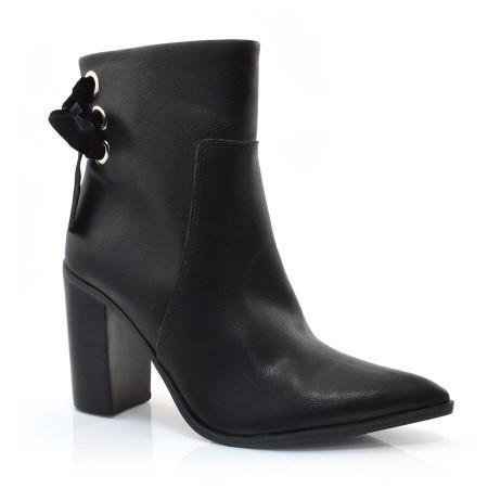 Ankle Boots De Salto Alto Bebece
